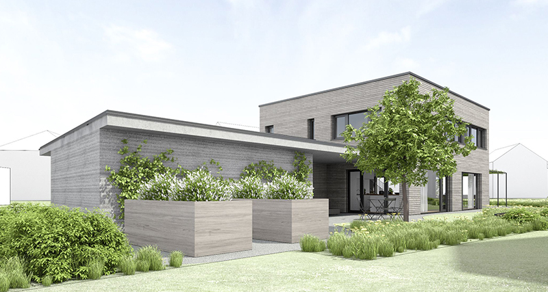 einfamilienhaus neubau rebstein ch. Black Bedroom Furniture Sets. Home Design Ideas
